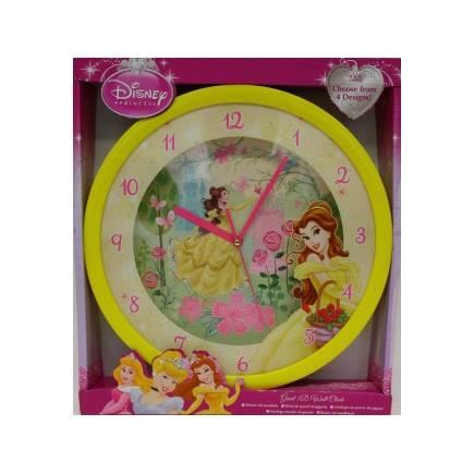 horloge murale 3d geante disney belle et la bet achat vente figurine personnage cdiscount. Black Bedroom Furniture Sets. Home Design Ideas