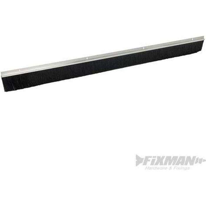 FIXMAN Porte de garage-Brosses joint Aluminium Les Brosses 2 x 1067 mm 25-mm