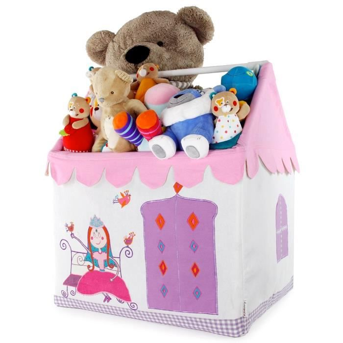 kidsley coffre jouets princesse achat vente coffre. Black Bedroom Furniture Sets. Home Design Ideas