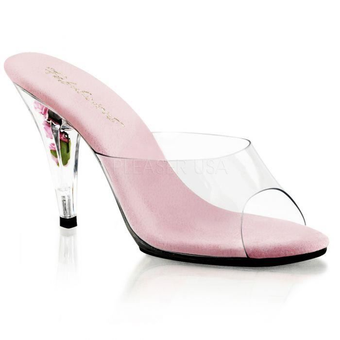 CARESS-401FL Transparent/fuschia