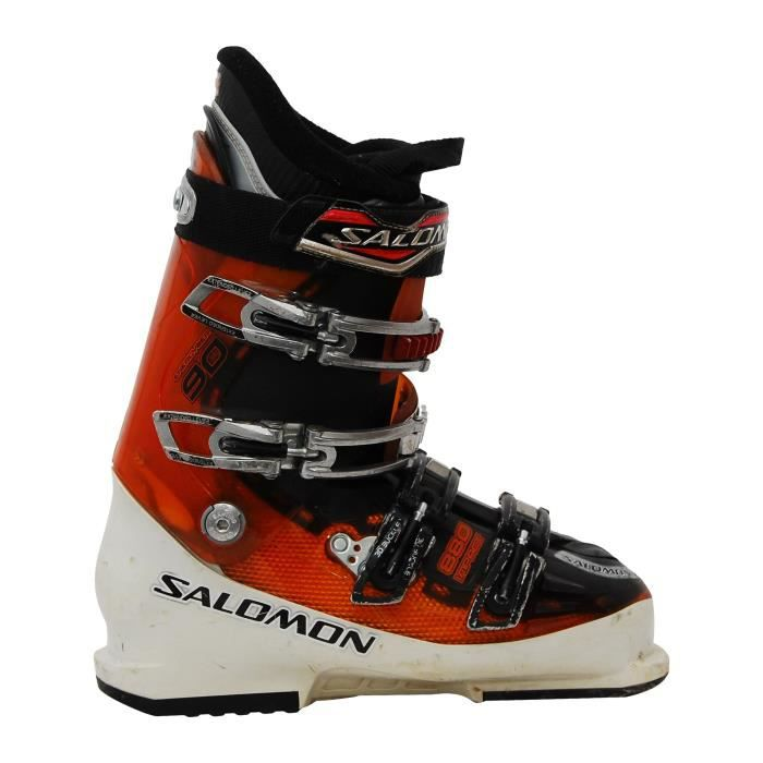 CHAUSSURES DE SKI Chaussure de ski Salomon Impact 880 blanc/orange