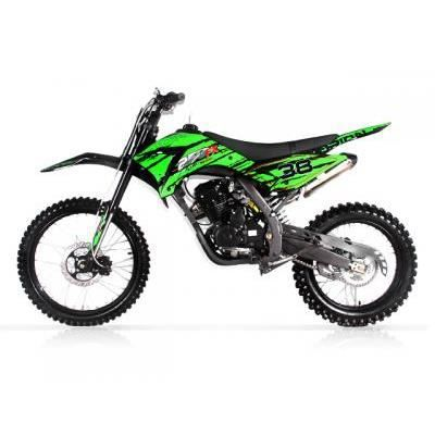 dirt bike apollo orion 250cc agb 38 dition verte akx. Black Bedroom Furniture Sets. Home Design Ideas