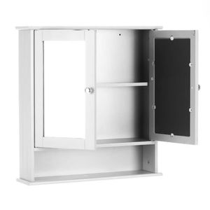armoire de toilette achat vente armoire de toilette pas cher cdiscount. Black Bedroom Furniture Sets. Home Design Ideas