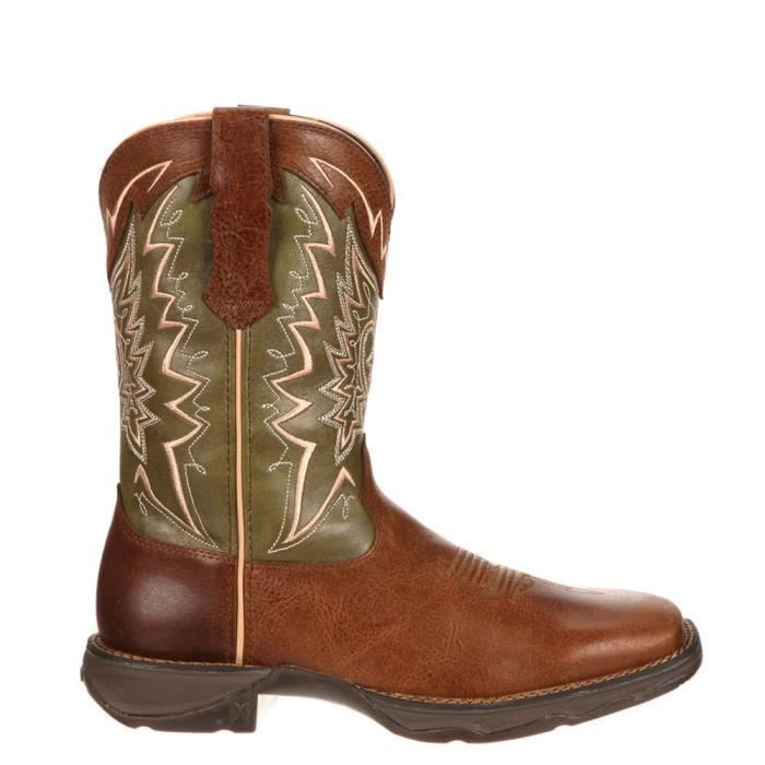 10'' Lady Rebel Let Love Fly Western Leather Casual Boots EYQIX Taille-37