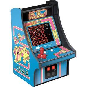 CONSOLE RÉTRO Borne d' Arcade Rétro Mini - My Arcade - Ms PAC-MA