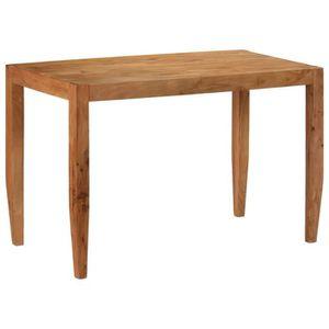 TABLE À MANGER SEULE Table de salon salle à manger design bois d'acacia