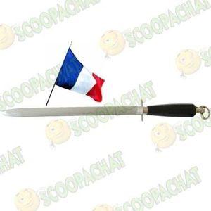 AFFUTAGE  Fusil boucher aiguiseur de couteaux ovale 44cm Thi