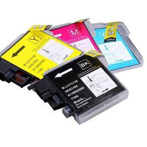 CARTOUCHE IMPRIMANTE Lot de 4 Cartouches compatibles BROTHER LC980
