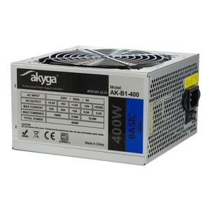 ALIMENTATION INTERNE Akyga Basic Series AK-B1-400 Alimentation électriq