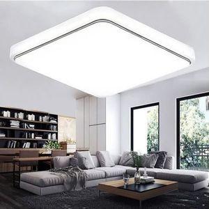 PLAFONNIER 24W LED Plafonnier Moderne Blanc Super Lumineux Ca