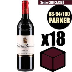 VIN ROUGE X18 Château Giscours 2014 75 cl AOC Margaux Rouge