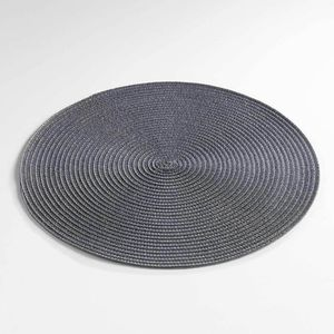 35/ cm de diam/ètre lavable en gris fonc/é-Anthracite Set de table Guilde ronde 6/ Set de Table lot de 6/ sets de table en feutre