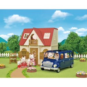 FIGURINE - PERSONNAGE SYLVANIAN FAMILIES 5303 Le Cosy Cottage du Village