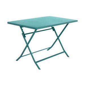 TABLE DE JARDIN  Table de jardin Hespéride rectangle Greensboro 110
