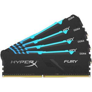 MÉMOIRE RAM HYPERX - Mémoire PC RAM - FURY DDR4 RGB - 32 Go (4