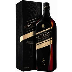 WHISKY BOURBON SCOTCH Johnnie Walker Double Black - Blended Whisky - 40%