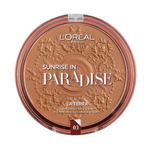 FOND DE TEINT - BASE L'OREAL PARIS Poudre La Terra Joli Bronze 03 Amalf