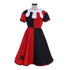DÉGUISEMENT - PANOPLIE Robe Harley Quinn Suicide Squad Costume Clown Hall