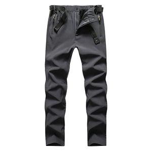 SOFTSHELL DE SPORT Pantalon Softshell Homme Hiver Doublee Polaire Str