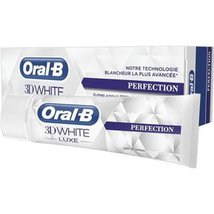 DENTIFRICE ORAL B Dentifrice 3d White luxe perfection - 75 ml