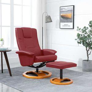 FAUTEUIL Fauteuil relax style contemporain confort Fauteuil