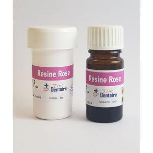 KIT PRODUITS DENTAIRES RESINE DENTAIRE ROSE
