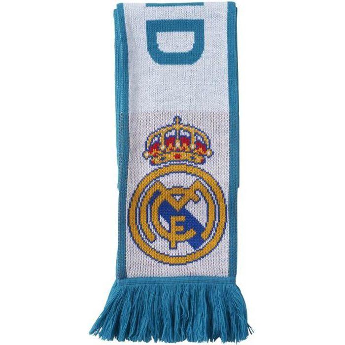 Écharpe Real Madrid - blanc-bleu clair - M