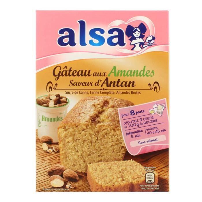 ALSA Gâteau Amandes saveur d'antan 300 g
