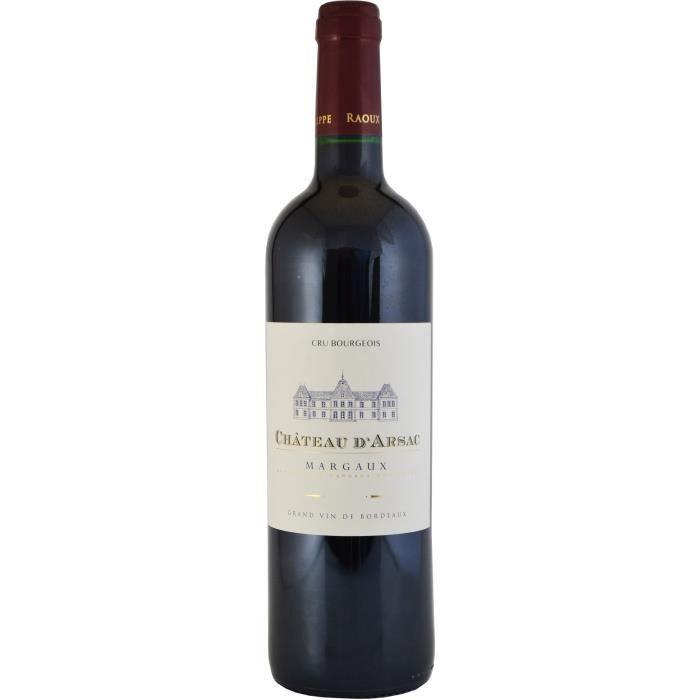 Château d'Arsac 2017 Margaux Cru Bourgeois - Vin rouge de Bordeaux