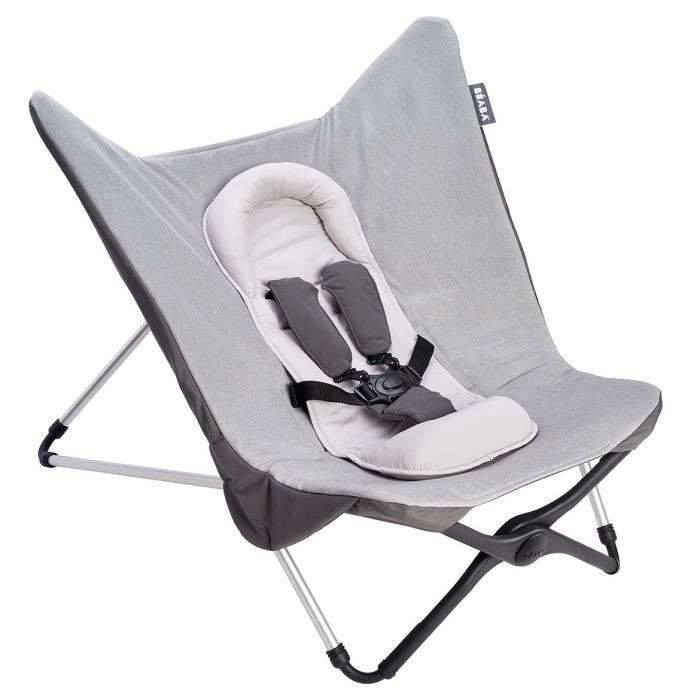 BEABA Transat bébé compact évolutif II - Gris