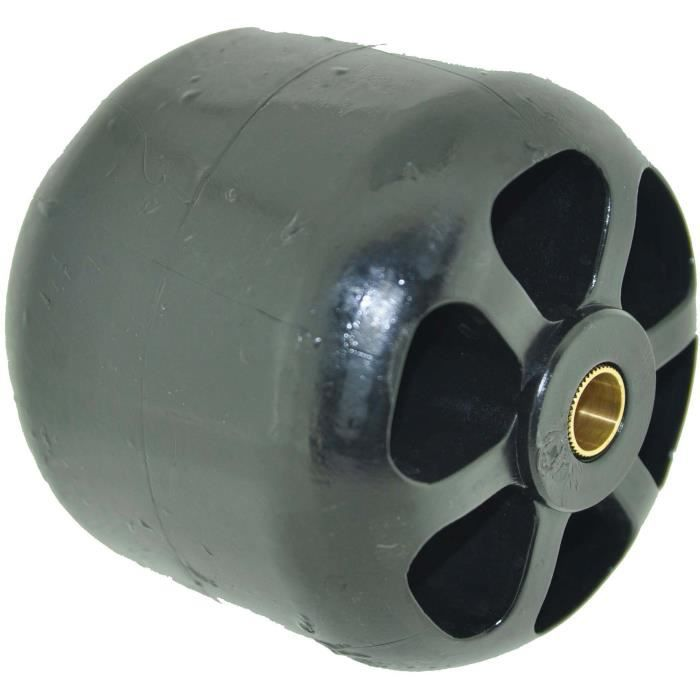 Roue anti-scalp adaptable pour KUBOTA modèles RC40G, G4200, G5200 Ø: ext: 95,2mm, Long moyeu: 96,8mm centré, alésage: 11,9mm