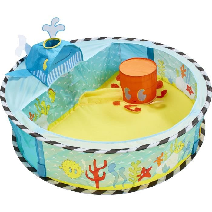 Worlds Apart Piscine à boules escamotable Ocean 80x80x20cm Multicolore