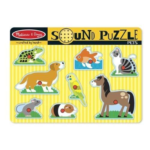 MELISSA & DOUG Puzzle Sonore - Animaux Domestiques