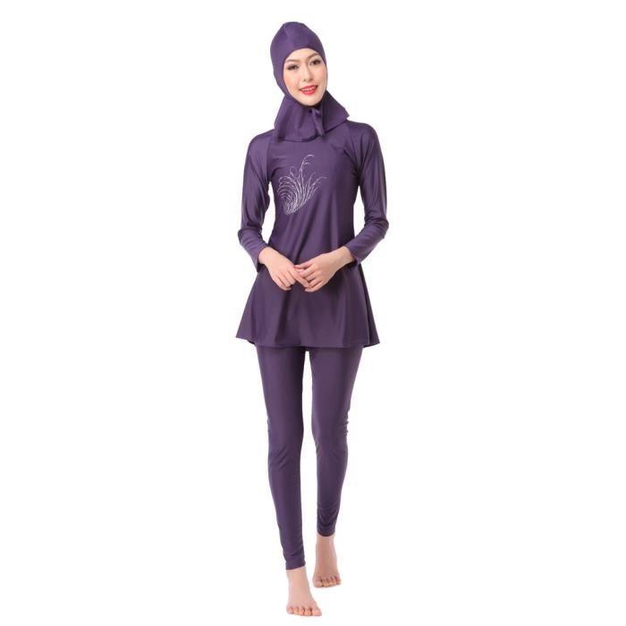 Arabe musulman maillot de bain femmes plage maillot de bain plus taille islamique modérée couverture natation maillot de bain
