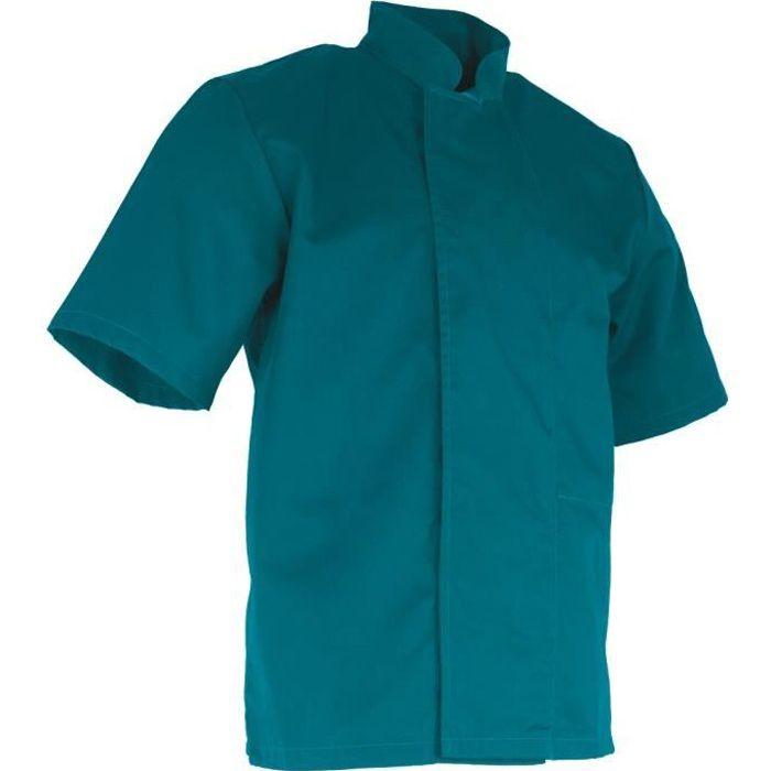 Veste de cuisine manches courtes LMA ARACHIDE - Bleu - XS