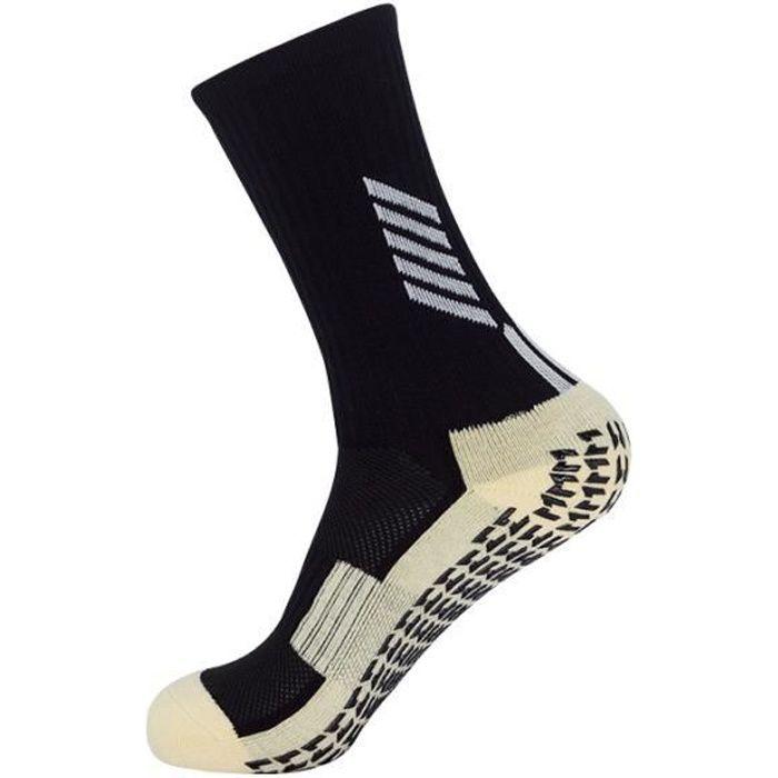 Chaussettes de Football Antidérapantes pour hommes femmes adultes Chaussettes de sport Épaisse pour basket-ball football