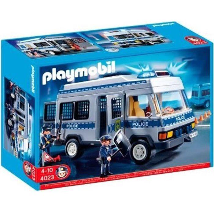 PLAYMOBIL - 4023 - JEU DE CONSTRUCTION - FOURGO…
