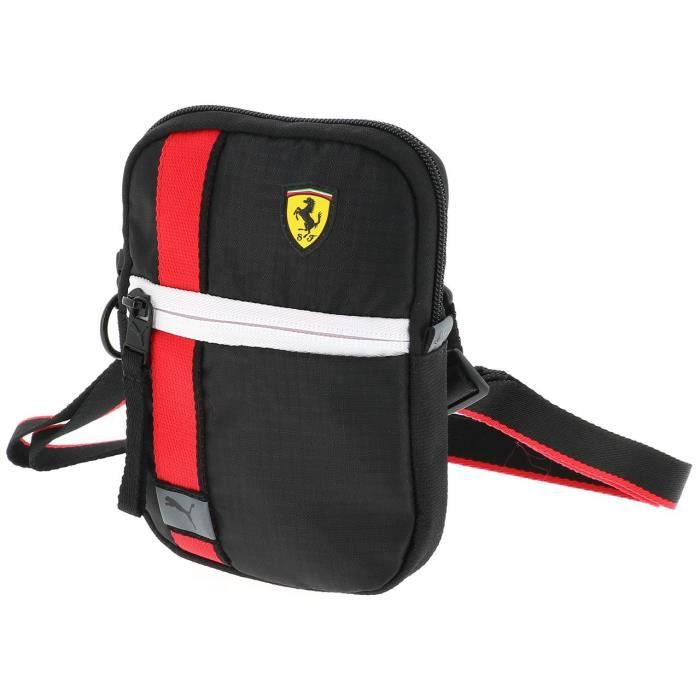Sacoche pochette bandouliére Ferrari race blk pochette - Puma UNI Noir