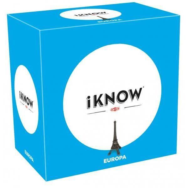 Tactic iKNOW Europe, Jeu de questions, Adultes, 45 min, Garçon-Fille, 15 année(s), 99 année(s)