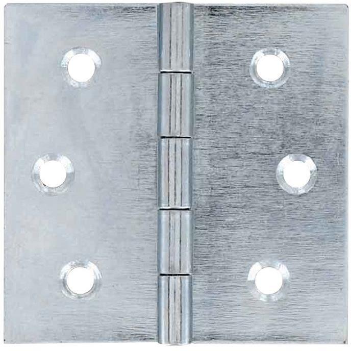 Charnière carrée acier - 30x30 mm
