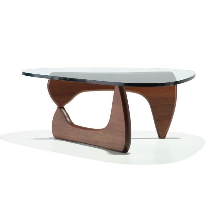 table basse noguchi noyer achat vente table basse. Black Bedroom Furniture Sets. Home Design Ideas