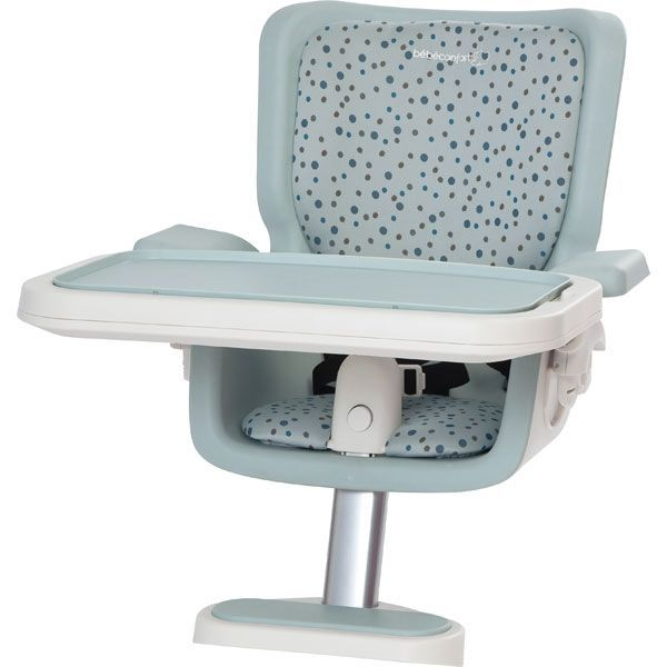 Assise chaise haute keyo drops dots bleu achat vente for Assise pour chaise haute