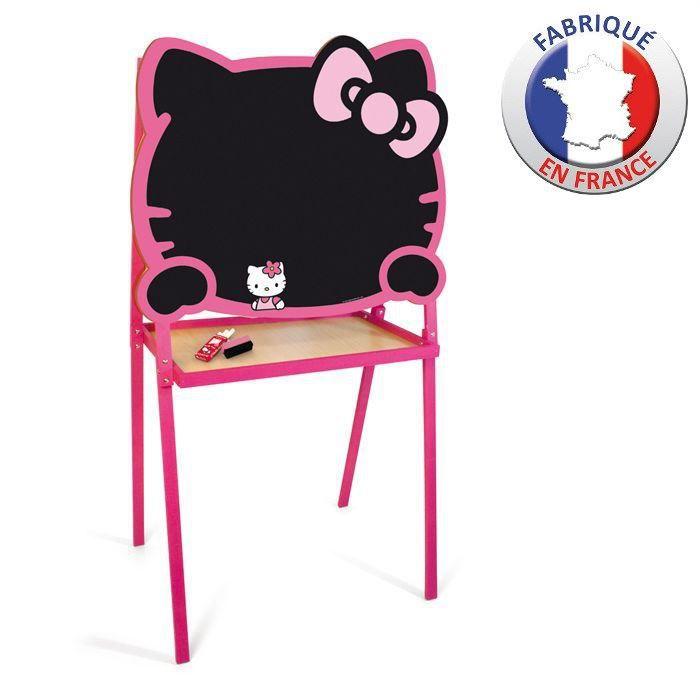 tableau cr atif hello kitty craie feutre achat vente. Black Bedroom Furniture Sets. Home Design Ideas