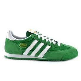 adidas dragon vert