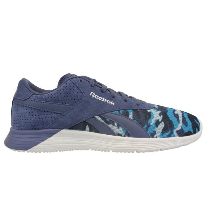 Reebok Sport Royal EC Ride GFX Bleu - Chaussures Baskets basses Homme