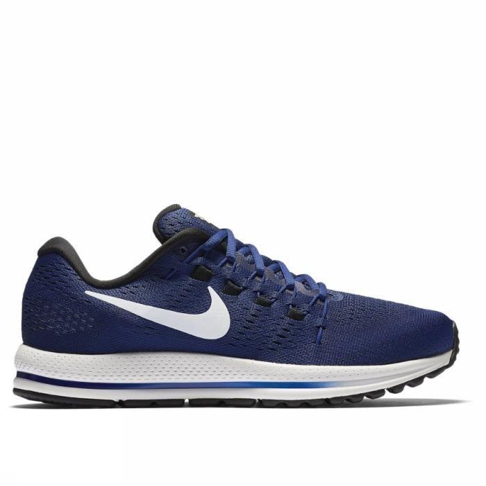 NIKE Chaussures de running AIR ZOOM VOMERO 12 - Homme - Bleu ...
