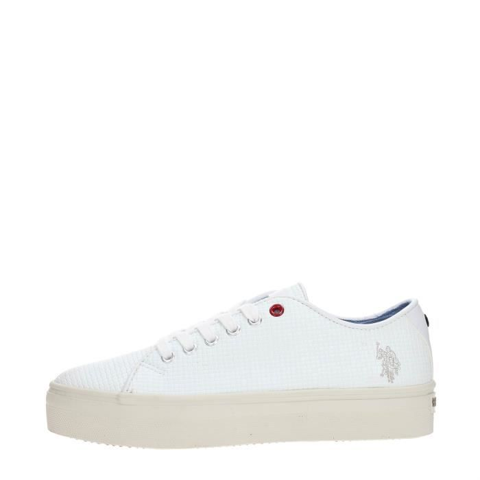 U.S. Polo Assn. Sneakers Femme WHITE, 36