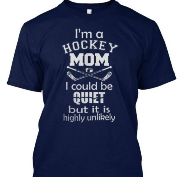 T-SHIRT je suis un tee - shirt hockey maman