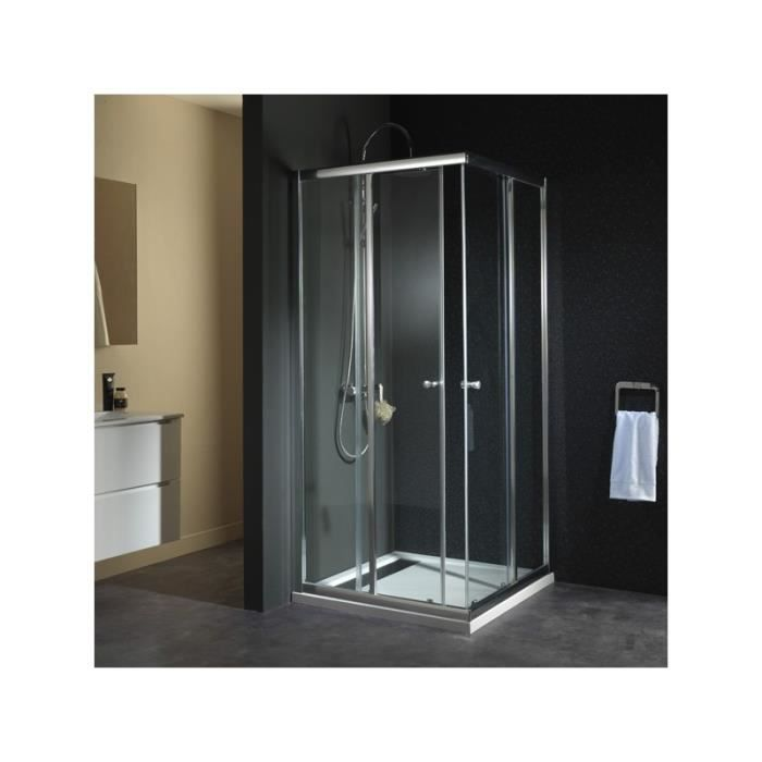 porte de douche acc s angle droit 39 philippe 39 90 achat vente cabine de douche porte de. Black Bedroom Furniture Sets. Home Design Ideas