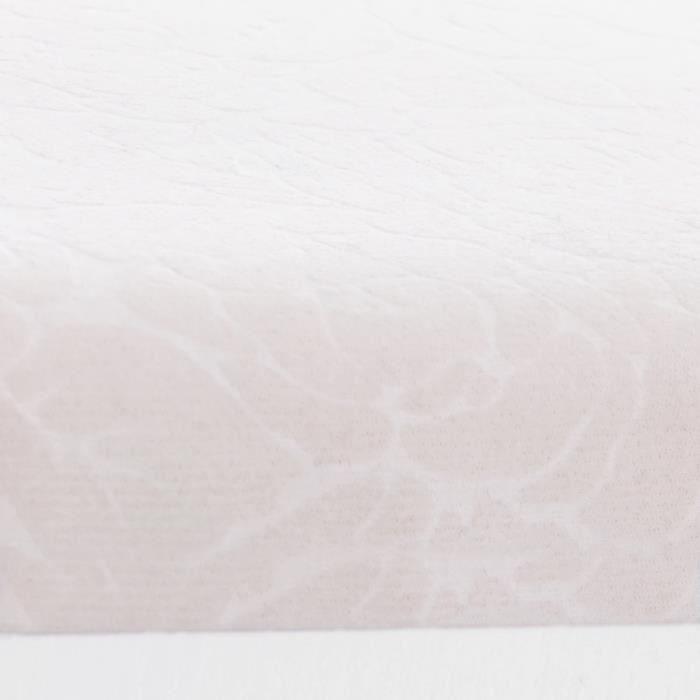 PENDERIE MOBILE SONGMICS Porte manteau - 2 Tablettes - Blanc